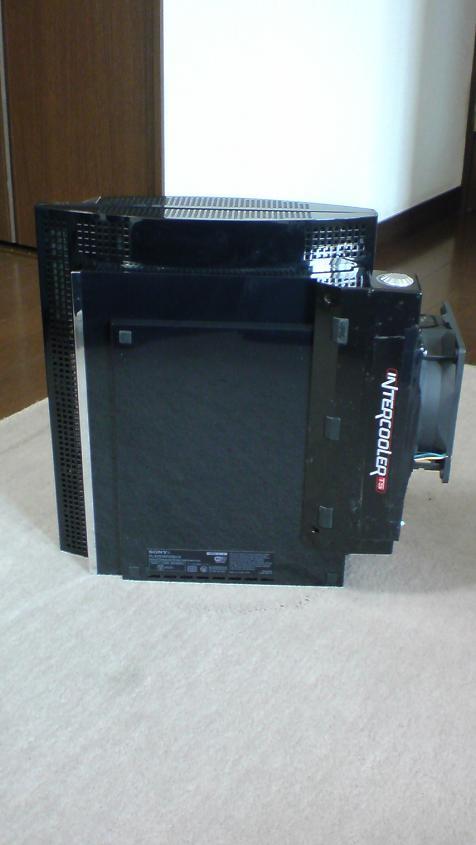 PS3+大型冷却ファン(INTERCOOLER TS for PS3改)④.JPG