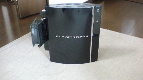 PS3+大型冷却ファン(INTERCOOLER TS for PS3改)⑥.JPG