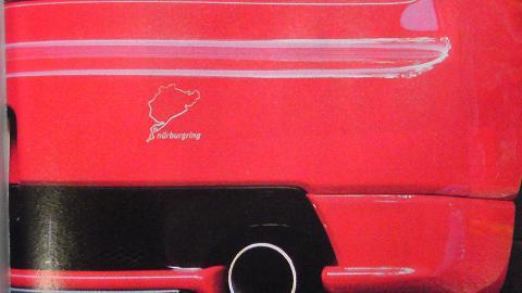 ガンさん(黒澤元治)の愛車は、ホンダ NSX Type R '02 の赤色(ニューフォーミュラレッド)?④.JPG
