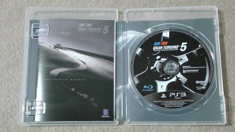 グランツーリスモ5の初回生産版を開封!(PS3 GT5)⑩.JPG
