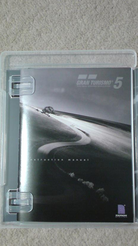 グランツーリスモ5の初回生産版を開封!(PS3 GT5)⑪.JPG