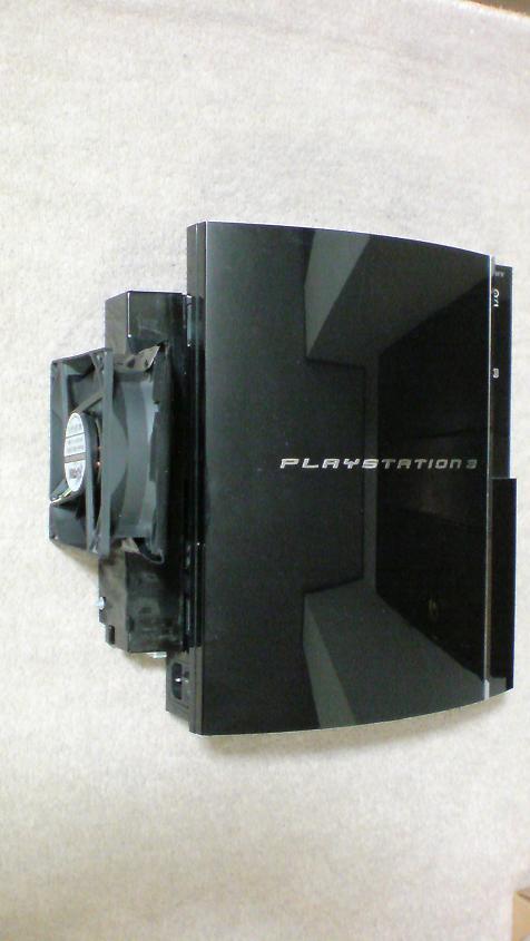 ドッキング完了!!PS3+INTERCOOLER TS for PS3改①.JPG