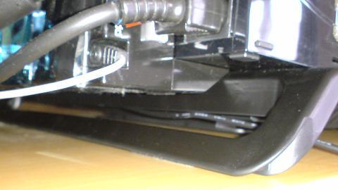 ノート用クーラーパッドにPS3 20GBを載せてみた!⑧.JPG
