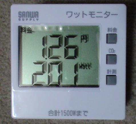 ワットモニター TAP-TST8 (SANWA SUPPLY)①.JPG