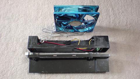 初期型PS3冷却用 INTERCOOLER TS for PS3改を再び分解!①.JPG