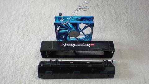 初期型PS3冷却用 INTERCOOLER TS for PS3改を再び分解!③.JPG