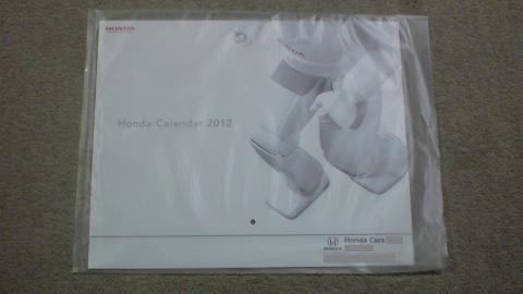 Honda Calendar 2012_①.JPG