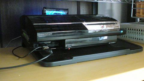 PS3 20GBにエアクーラー3(ゲームテック)の吸気ファンも付けてみた⑰.JPG
