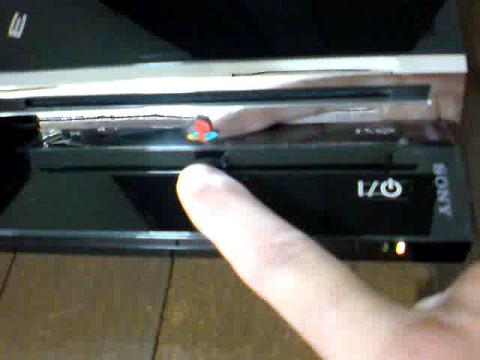 PS3 60GB 赤点滅から、飲み込まれたディスク(GT5)の救出を試みる④.JPG