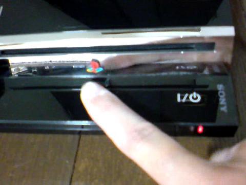 PS3 60GB 赤点滅から、飲み込まれたディスク(GT5)の救出を試みる⑩.JPG