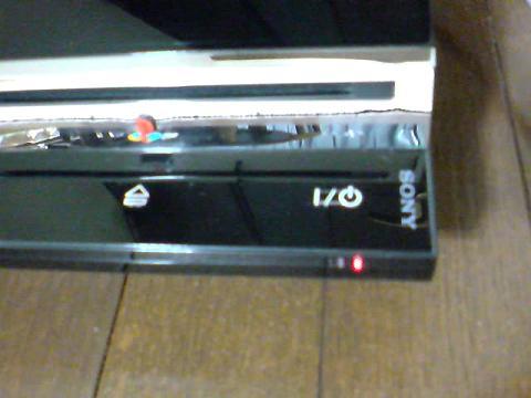 PS3 60GBが、赤点滅...①.JPG