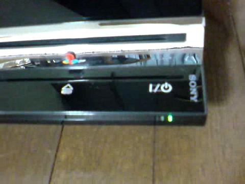 PS3 60GBが、赤点滅...②.JPG