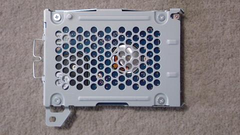 PS3 CECH-3000A のHDDは160GB①.JPG