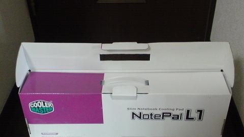 PS3 非対応?クーラーマスター NotePal L1の開梱②.JPG