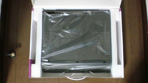 PS3 非対応?クーラーマスター NotePal L1の開梱⑤.JPG