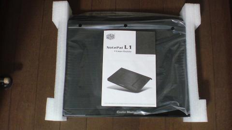 PS3 非対応?クーラーマスター NotePal L1の開梱⑥.JPG