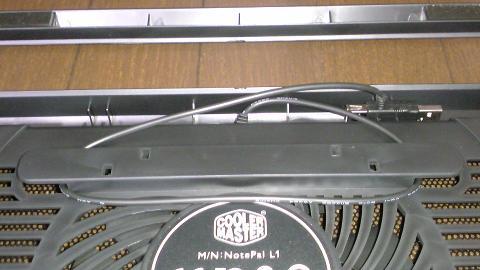 PS3 非対応?クーラーマスター NotePal L1の開梱⑭.JPG
