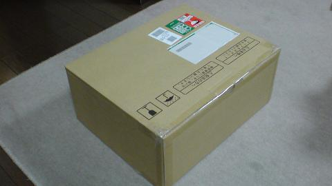 PS3を修理に出す為の、梱包用の箱が届いた!②.JPG