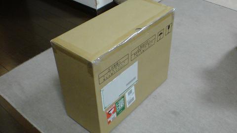 PS3を修理に出す為の、梱包用の箱が届いた!④.JPG
