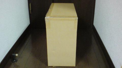 PS3を修理に出す為の、梱包用の箱が届いた!⑪.JPG