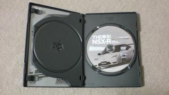 お気に入りのDVD 「 THE疾る!NSX-R 」 ③.JPG