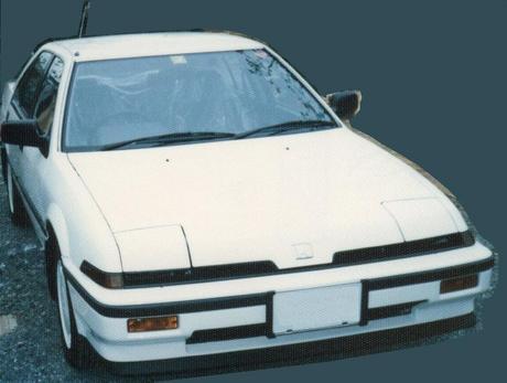 ホンダ車① HONDA QUINT INTEGRA(クイントインテグラ)4ドアセダン GSi E-DA1 5MT.jpg