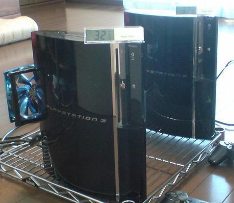 初期型PS3の冷却効果を比較しようとして準備を開始した!①.JPG