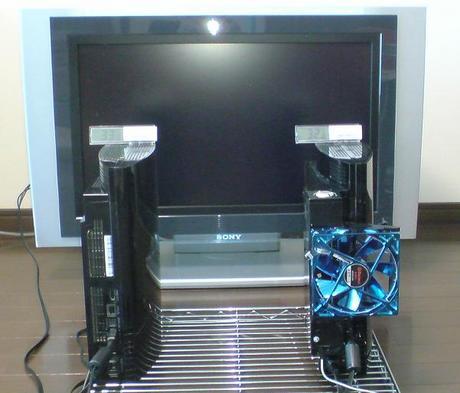 初期型PS3の冷却効果を比較!1.電源オン時の温度①.JPG