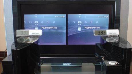 初期型PS3の冷却効果を比較!1.電源オン時の温度③.JPG