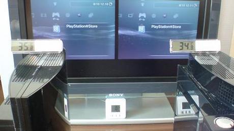 初期型PS3の冷却効果を比較!2.起動後の温度を比較④.JPG