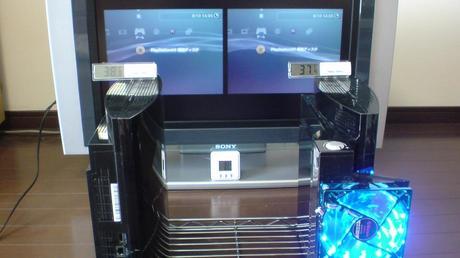 初期型PS3の冷却効果を比較!3.互換機能を使用する(PS2用グランツーリスモ4)②.JPG