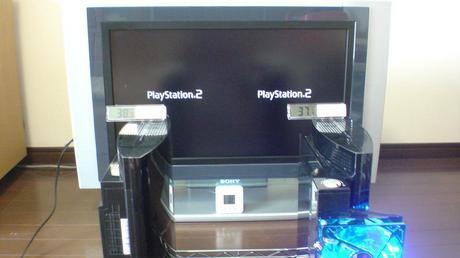 初期型PS3の冷却効果を比較!3.互換機能を使用する(PS2用グランツーリスモ4)③.JPG