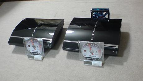 初期型PS3の発熱と騒音対策の効果を対策有りと無しで比較してみる?①.JPG