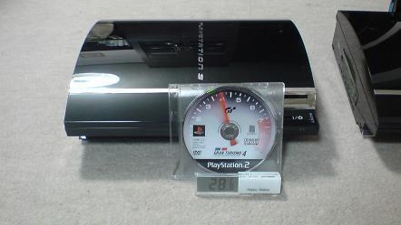 初期型PS3の発熱と騒音対策の効果を対策有りと無しで比較してみる?②対策無し.JPG