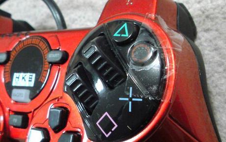HKS Racing Controller をGT5で使うと、アクセルが..._サイドブレーキ固定.JPG