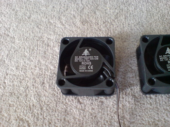 INTERCOOLER TS for PS3 ① オリジナル 4cm FAN アップ.JPG