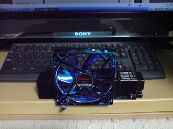 INTERCOOLER TS for PS3 FAN交換(完了)!.JPG