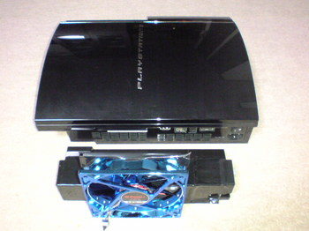 INTERCOOLER TS for PS3 FAN交換(PS3 60GB取り付け)②.JPG