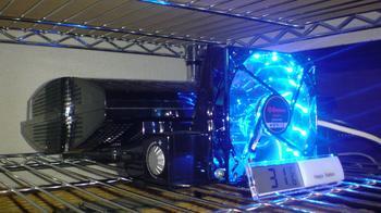 PS3 60GB 冷却装置 温度測定 デジタル温度計 by 100円ショップ③.JPG