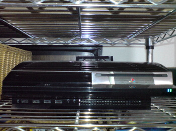 PS3 60GB (SO903i with ZebraLight H501).JPG