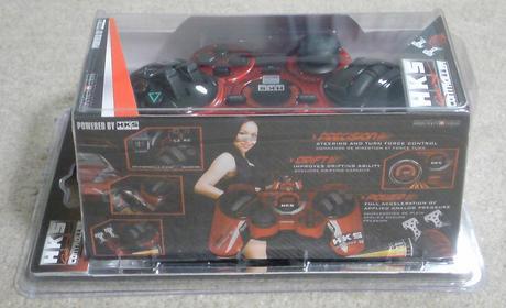 PS3 HKSレーシングコントローラは、ブリスターパッケージ...⑥.JPG