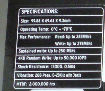 PS3の換装するSSD OCZ OCZSSD2-2VTXE60Gのスペック.JPG