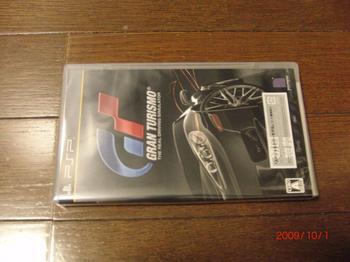 PSP グランツーリスモ RACING PACK 同梱版 ソフト.JPG