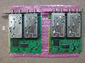PT1(左)とPT2(右)部品面.JPG