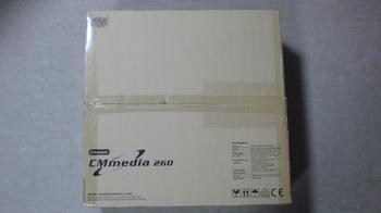 PT2 HTPC テレビ録画機用 PCケース Cooler Master CM Media 260 BLACK ①.JPG