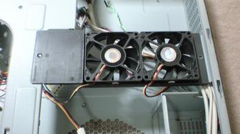 PT2 HTPC テレビ録画機用 PCケース Cooler Master CM Media 260 ⑭.JPG