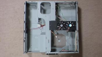 PT2 HTPC テレビ録画機用 PCケース Cooler Master CM Media 260 ⑮.JPG