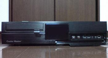 PT2 HTPC テレビ録画機用 PCケース Cooler Master CM Media 260 ⑲.JPG