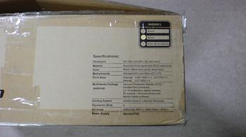 PT2 HTPC テレビ録画機用 PCケース Cooler Master CM Media 260 Silver ①.JPG