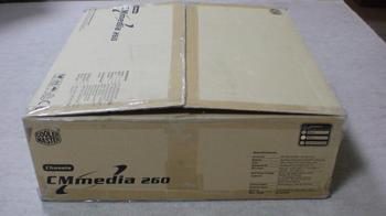 PT2 HTPC テレビ録画機用 PCケース Cooler Master CM Media 260 Silver ②.JPG